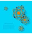 modern chemistry background Eps 10 vector image vector image