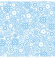 Seamless Cogwheel Pattern vector image vector image