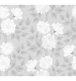 Light abstract seamless flower background vector image vector image