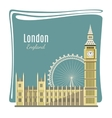 London landmarks detailed vector image