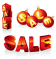 sale design elements vector image