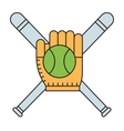 Sport team baseball vector image