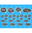 STICKER COMICS LABEL ETIQUETTE vector image