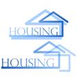 Housing symbol vector image