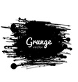 Grunge Paint Splat vector image