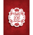 decorative happy new year background 2811 vector image vector image