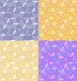seamless hexagons vector image vector image