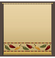 chili pepper wall hanging vector image vector image