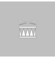 Drum computer symbol vector image