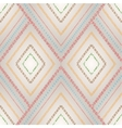 Seamless pattern with geometric elements vector image