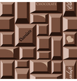 chocolate seamless pattern vector image vector image