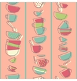 Seamless pattern with kitchen utensils vector image vector image