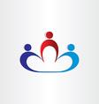 leadership boss teamwork workers icon vector image