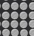 Polka dot background seamless pattern scribble dot vector image