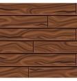 Wooden Horizontal Planks Background vector image