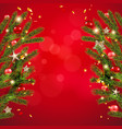 background and branches vector image