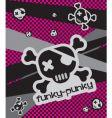 funky-punkie illustration vector image