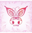 graphic butterfly of a summer vector image