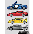 cars series set 2 vector image vector image