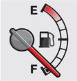 Car Gas tank Indicator vector image