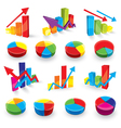graph set vector image