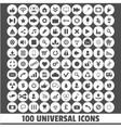 universal icon vector image