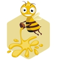 honey bee vector image