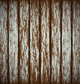 Old wooden wall with peeling paint vector image