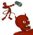 ripped cheeky devil vector image