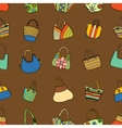 Collection design handbags vector image