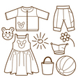 set for children vector image