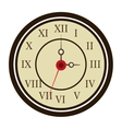 colorful old clock graphic vector image