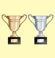 trophy vector image
