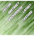 Green Diagonal Background vector image vector image