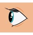 Expressive eyes design vector image