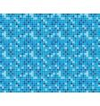 seamless background of blue squares vector image