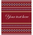 Colorful striped pattern on burgundy background vector image