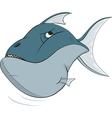 Deep water fish vector image
