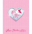 card heart 3 380 vector image