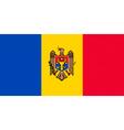 Moldovan flag vector image vector image