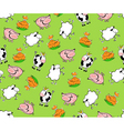 farm animals seamless vector image