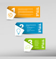 paper progress background product choice or vector image