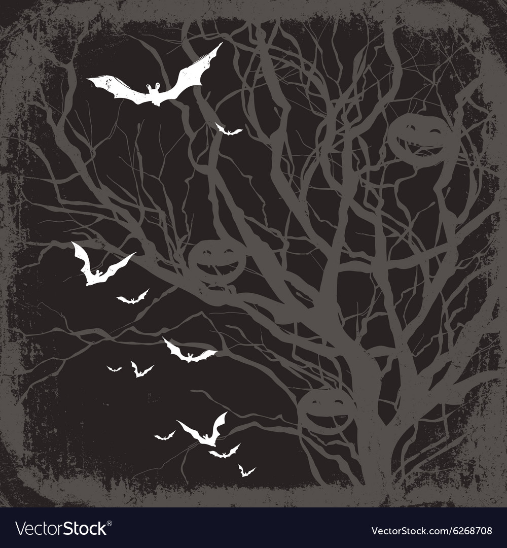 Halloween themed background vector