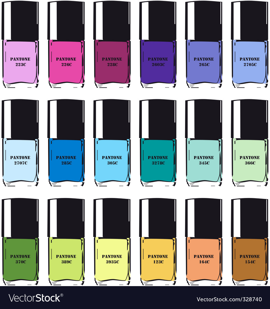Nailpolish vector