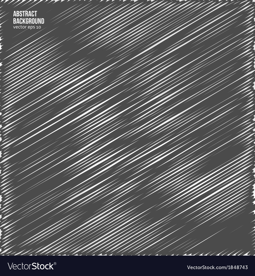 Abstract background scribble and dark vector