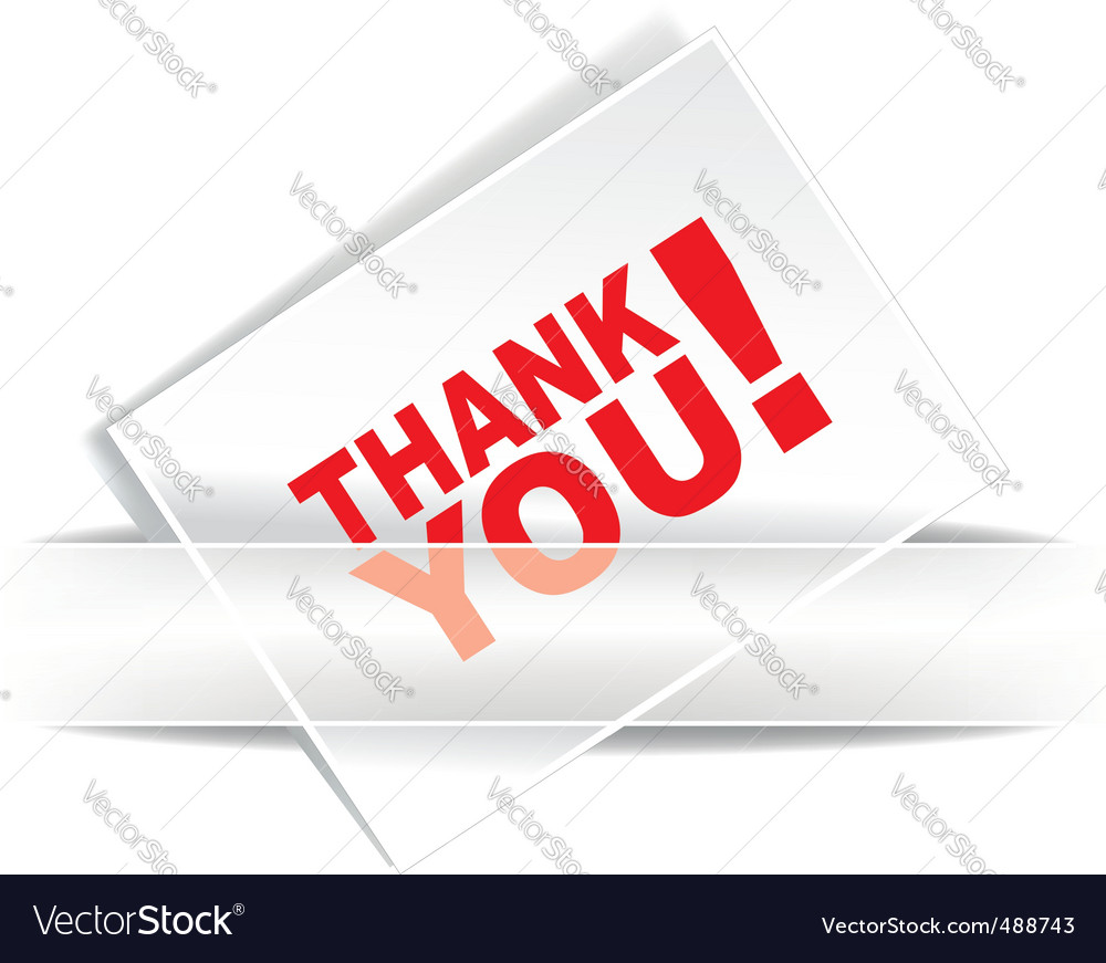 Grateful card vector