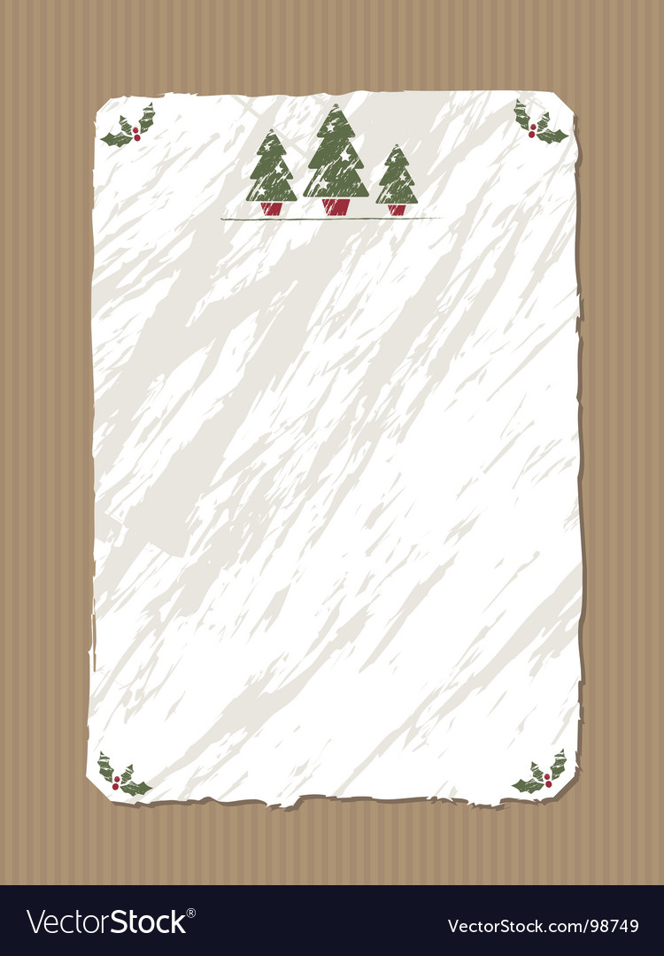 Christmas paper vector