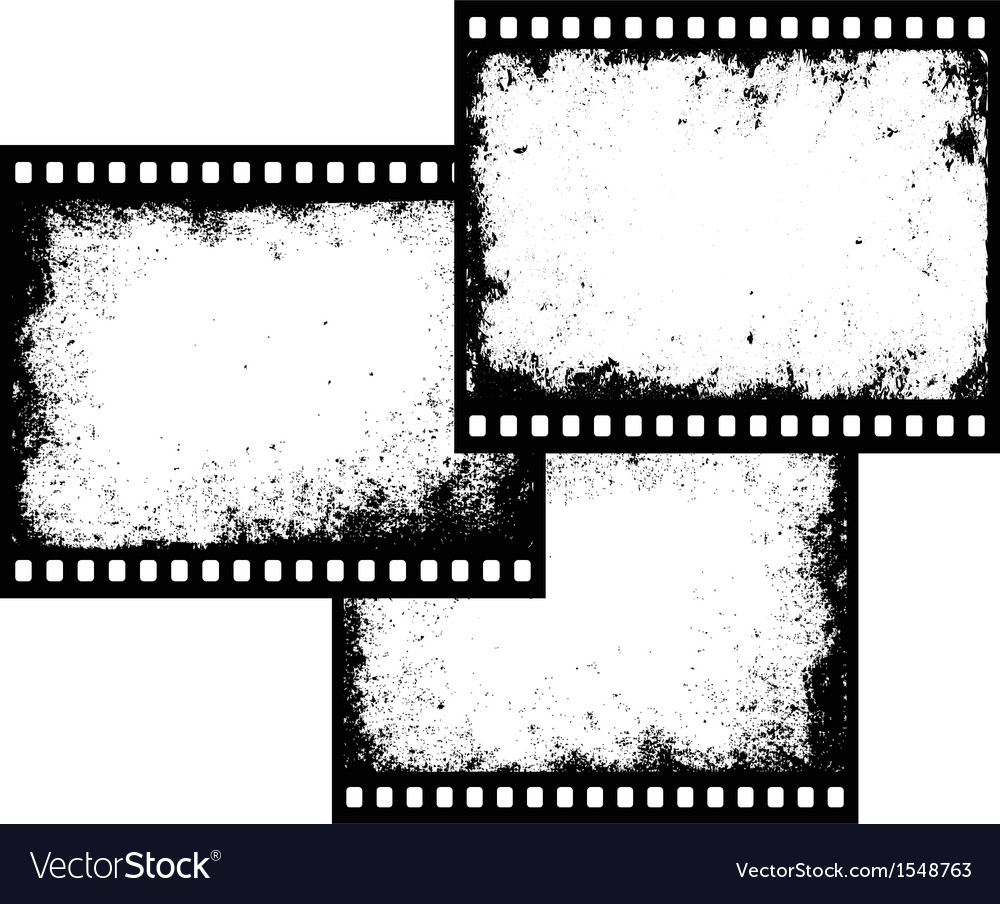 Film frames vector