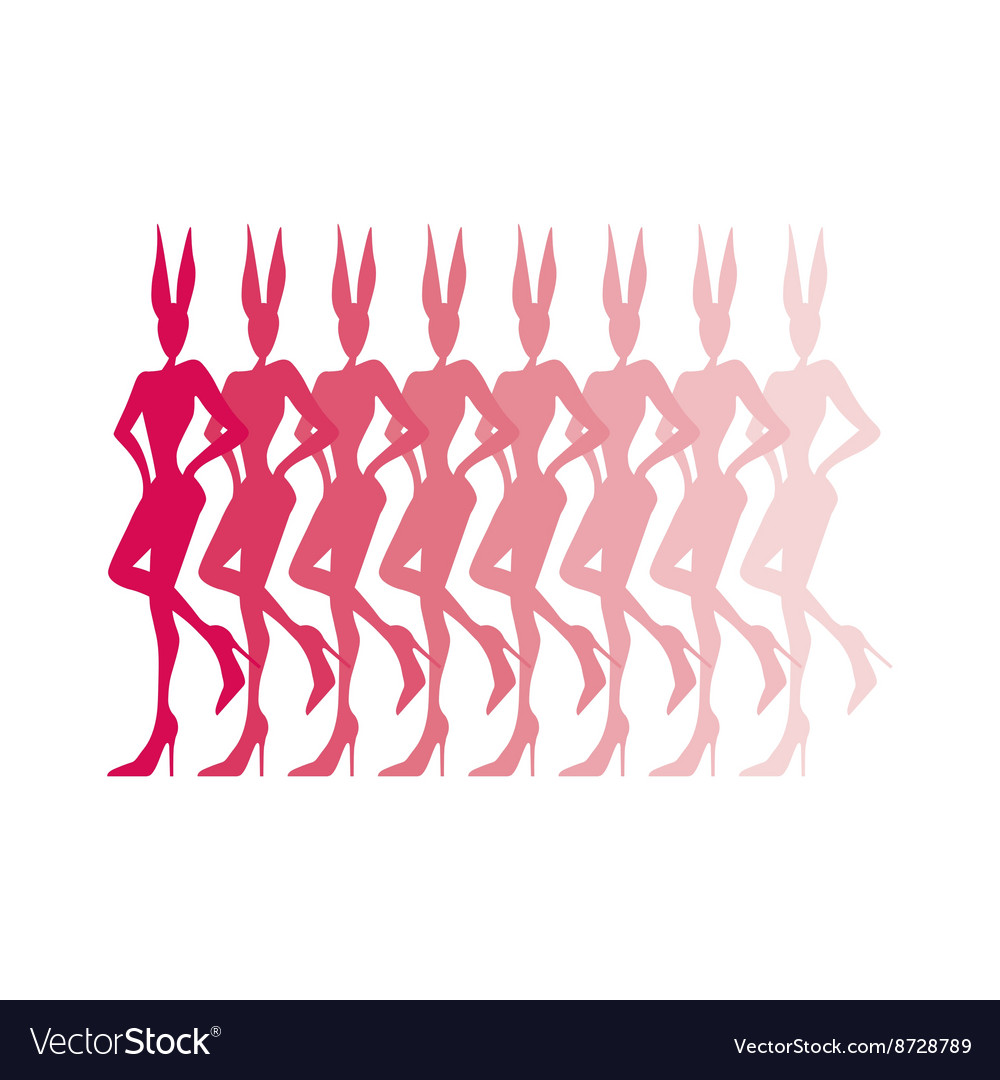 Women at a bachelorette party vector