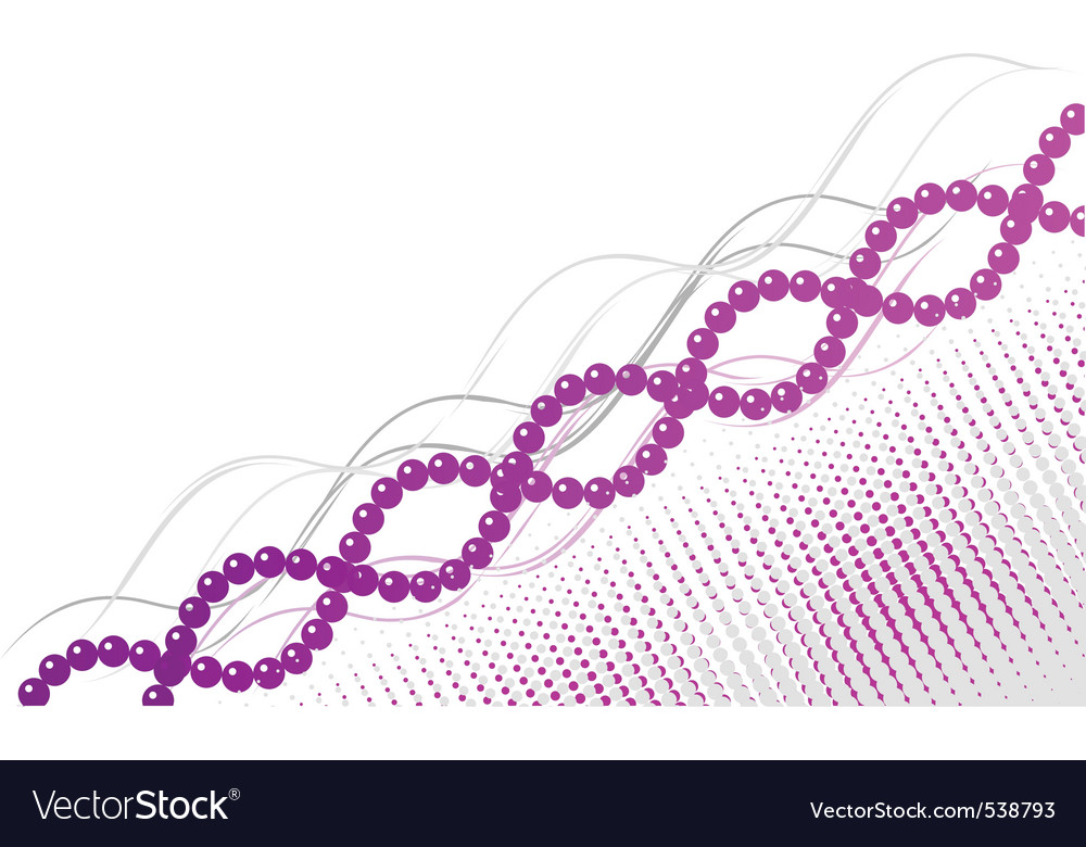 Purple and pink spiral background vector